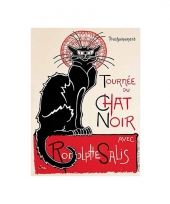 Wand decoratie le chat noir