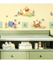 Wanddecoratie stickers winnie de poeh