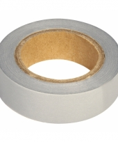 Washi tape zilver