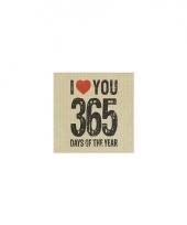 Wegwerp servetten 365 days