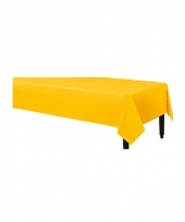 Wegwerp tafelkleed geel 140 x 240 cm