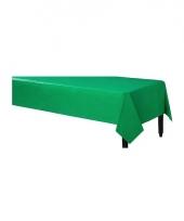 Wegwerp tafelkleed groen 140 x 240 cm