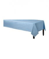 Wegwerp tafelkleed lichtblauw 140 x 240 cm