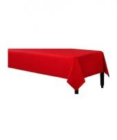 Wegwerp tafelkleed rood 140 x 240 cm