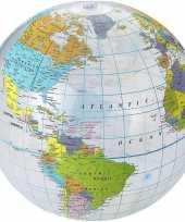 Wereldbollen aarde opblaasbaar