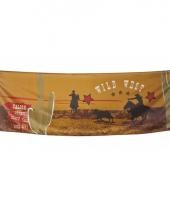 Western cowboy vlag 220 cm