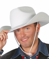Western hoed wit
