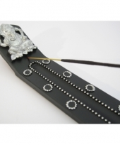 Wierookhouders zwart ganesh 25 cm