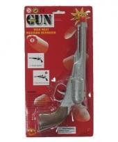 Wilde westen revolver 8 schoten