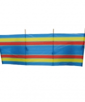 Windscherm van polyester 240 x 90 cm