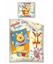 Winnie de poeh dekbedovertrek kinderen 140 x 200 cm