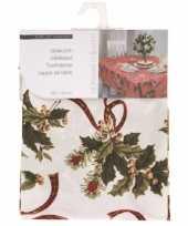 Wit laken voor kersttafel 180 cm 10074536
