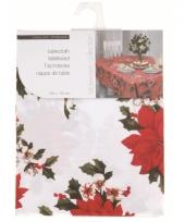 Wit laken voor kersttafel 180 cm
