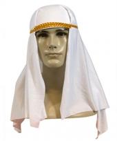 Witte arabieren hoofddoek