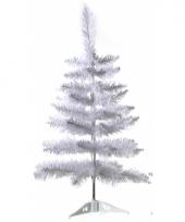 Witte decoratie kerstboom 60 cm