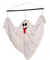 Witte decoratie spookjes 60 cm
