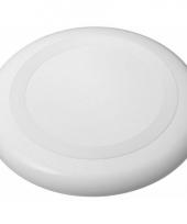 Witte frisbee 23 cm