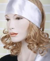 Witte hoofdsjaals voor dames