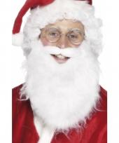 Witte oude man baard