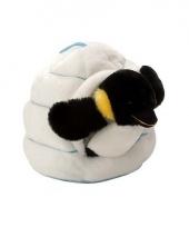 Witte pinguin knuffeldier