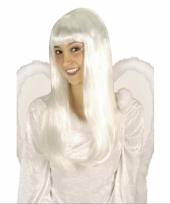 Witte pruik engeltje