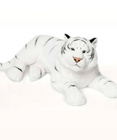 Witte tijger liggend 81 cm wnf