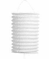 Witte trek lampion