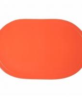 Wk decoratie oranje placemats
