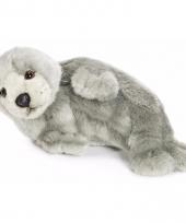 Wnf knuffels grijze zeehond 24 cm