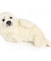 Wnf knuffels witte zeehond 24 cm