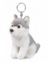 Wnf pluche wolven sleutelhangertje