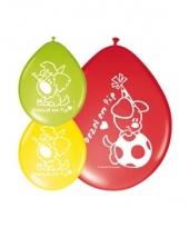 Woezel en pip latex ballonnen 8 stuks