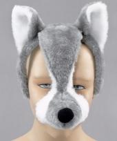 Wolven verkleed maskers voor volwassenen
