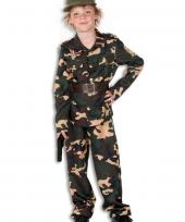 Woodland camouflage pak voor kids