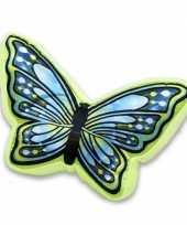 Woondecoratie kussen vlinder 50 cm