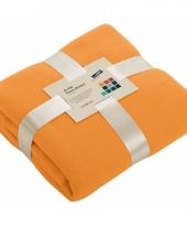 Woonkleed in oranje kleur