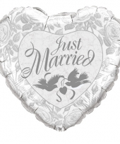 Xl folieballon getrouwd