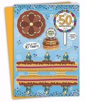Xxl sarah verjaardagskaart 35 x 49 cm