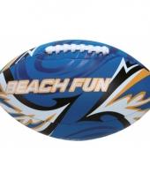 Zachte rugby ballen blauw 27 cm