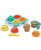 Zand cupcakejes speelgoed set