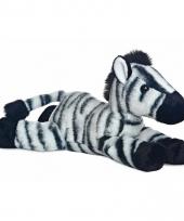 Zebra knuffeltje 30 cm 10085666