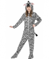 Zebra onesie voor kids
