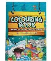 Zee dieren a4 kleurboeken zeedieren 24 paginas met kleurplaten
