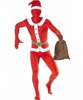 Zentai kostuum kerstman