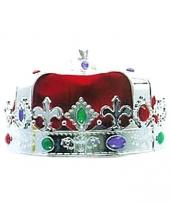 Zilvere koningskroon