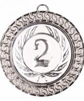 Zilveren kampioensmedaille nr 2