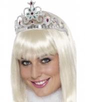 Zilveren prinsessen tiara s