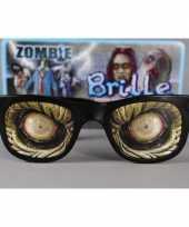 Zombie bril enge ogen volwassenen