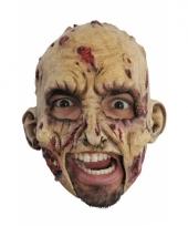 Zombie masker met open kin