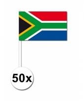 Zuid afrika zwaai vlaggetjes 50 stuks